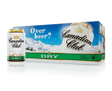 Canadian Club & Dry 10 x 375ml