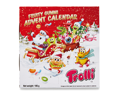 Trolli Advent Calendar 105g