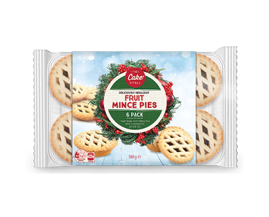 Traditional Fruit Mince Pies 360g