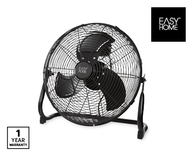 High Velocity Floor Fan 45cm