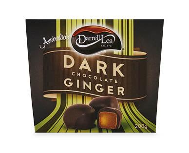Darrell Lea Dark Chocolate-Coated Ginger Gift Box 200g