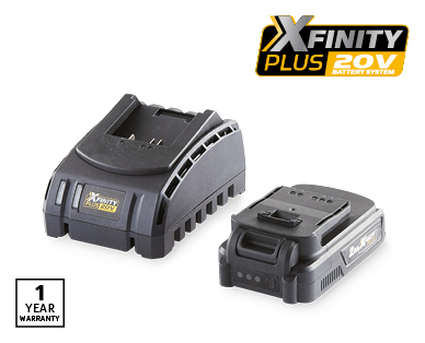 20V 2.0Ah Battery and Charger Kit