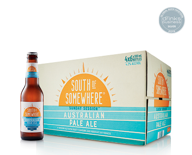 South of Somewhere Pale Ale 24 x 330ml