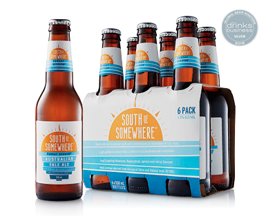 South of Somewhere Pale Ale 6 x 330ml