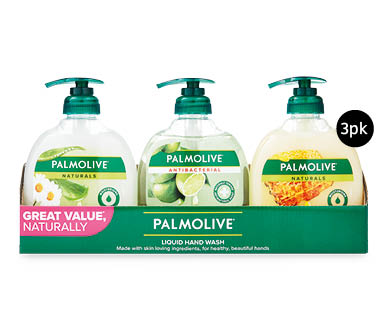 Palmolive Multi Value Hand Wash 3 x 250ml Pack