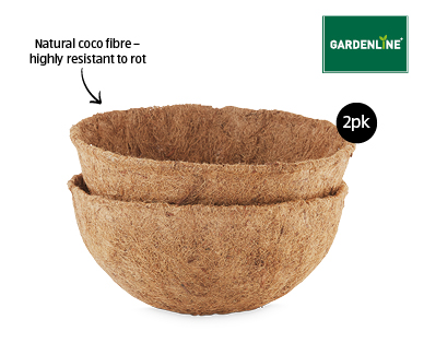 2pk Coco Basket Liners