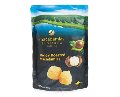 Honey Macadamias 400g