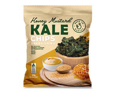 Back 2 Basics Kale Chips Honey Mustard 60g
