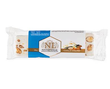 Nougat Limar Vanilla Almond Log 150g