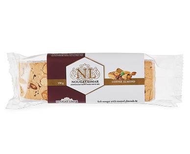 Nougat Limar Coffee Almond Log 150g