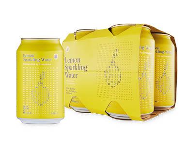StrangeLove Assorted Infused Mineral Waters Lemon 4x330ml