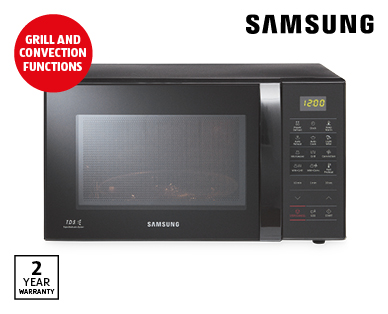 Samsung 3-in-1 Microwave with Grill and Convection