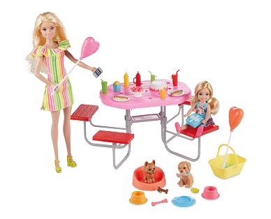 Barbie Puppy Picnic Playset