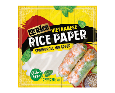 Mr Rice – Rice Paper Wrappers 280g