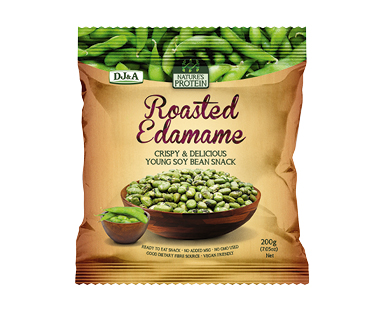 Japanese Roasted Edamame Pea Snacks 200g