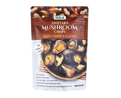 DJ&A Original Shiitake Mushroom Crisps 65g