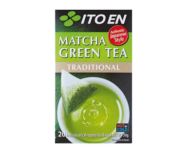ITO EN Matcha Green Tea Bags 20pk/30g