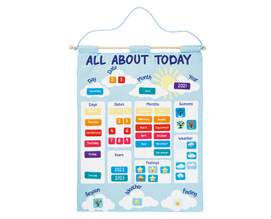 Giant Learning Calendar