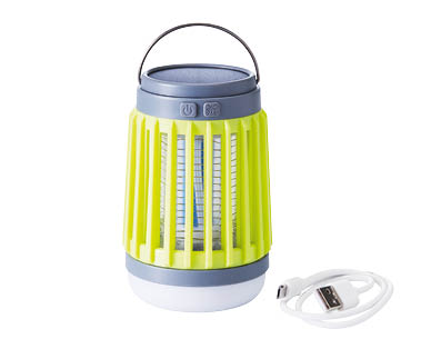 Light with Bug Zapper