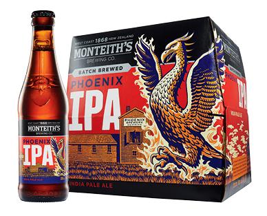 Monteith's Phoenix IPA 12 x 330ml