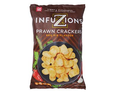 Infuzions BBQ Rib Prawn Crackers 110g