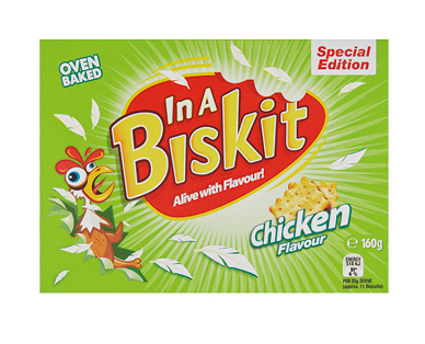 In A Biscuit Crackers Chicken 160g