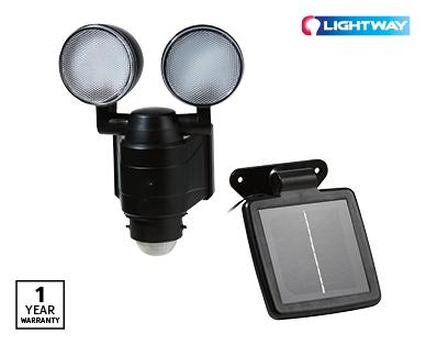 Twin Head Security Light