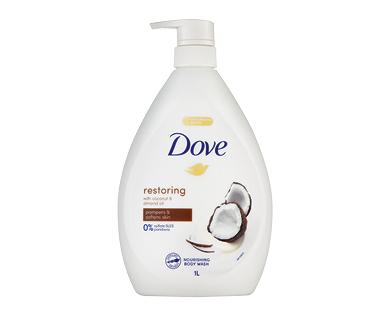 Dove Restoring Coconut Bodywash 1L