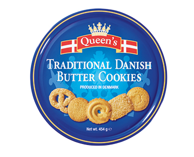 Queen's Danish Butter Cookies 454g