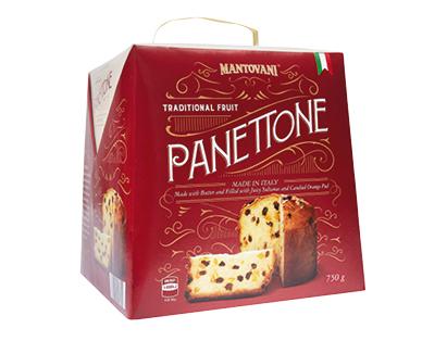 Italian Panettone Traditional Fruit 750g
