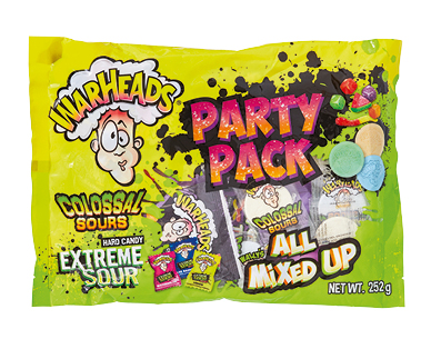 Warheads Party Pack 252g