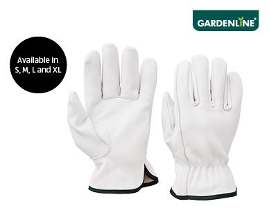 Leather Rigger Garden Gloves