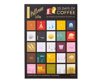 Vittoria Coffee Capsules Advent Calendar