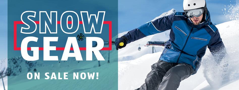 Snow Gear on Sale Now at ALDI