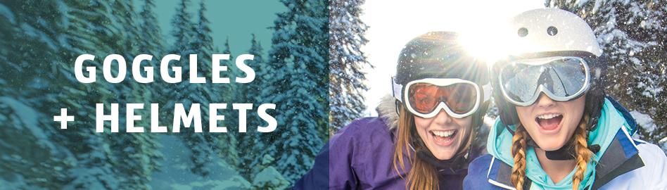 Snow Goggles & Snow Helmets