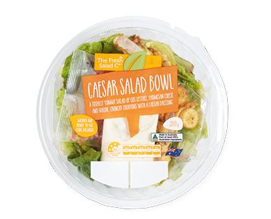 The Fresh Salad Co Caesar Salad Bowl 200g