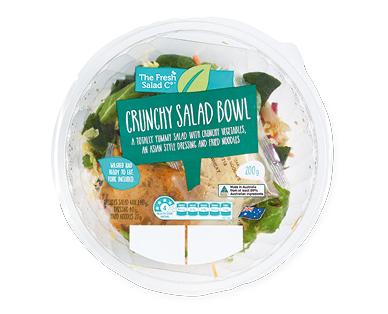 The Fresh Salad Co Crunchy Salad Bowl 200g