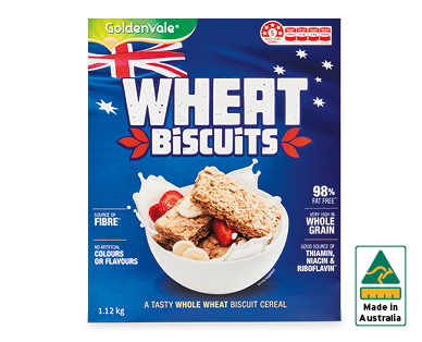 GoldenVale Wheat Biscuits 1.12kg