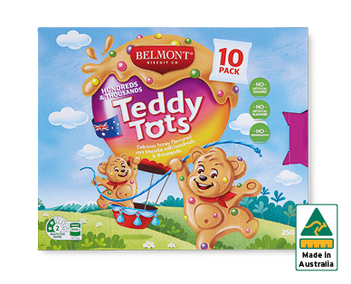 Belmont Biscuit Co. Teddy Tots 10pk