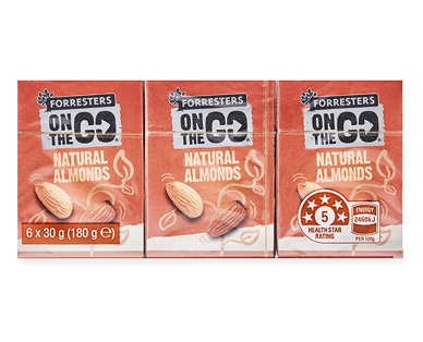 Forresters Almonds Snack Packs 6pk