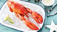 Whole Cooked Lobster Frozen 400g
