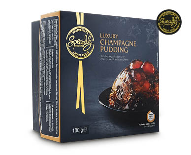 Specially Selected Luxury Champagne Pudding 100g