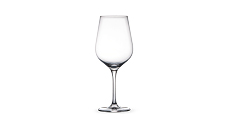 Crystal Red Wine Glasses 6pc