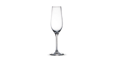 Crystal Champagne Glasses 6pc