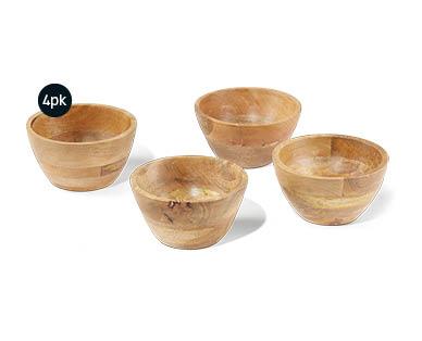 Assorted Wooden Servingware