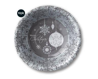 Christmas Paper Dessert Bowls 10pk