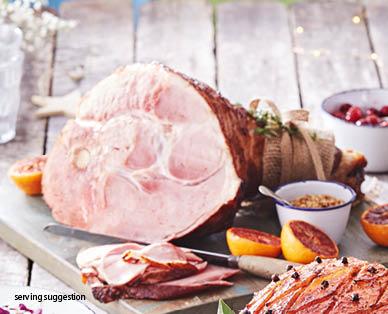 Premium Triple Smoked Half Leg Ham