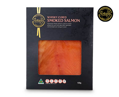 Specially Selected Whisky Cured Smoked Salmon 100g