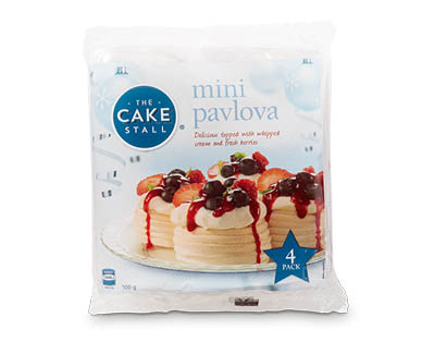 Mini Pavlovas 4pk/100g