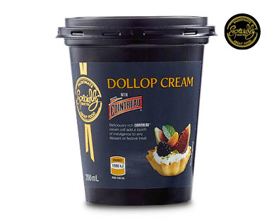 Specially Selected Liqueur Flavoured Cream 200ml